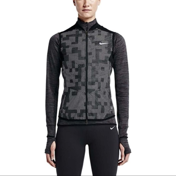 NWT Women s Nike Running Aeroloft Reflective Vest b96906b3b